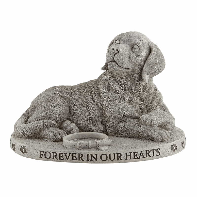 Avalon Gallery Michael Adams Memorial Forever in Our Hearts Dog Garden Marker