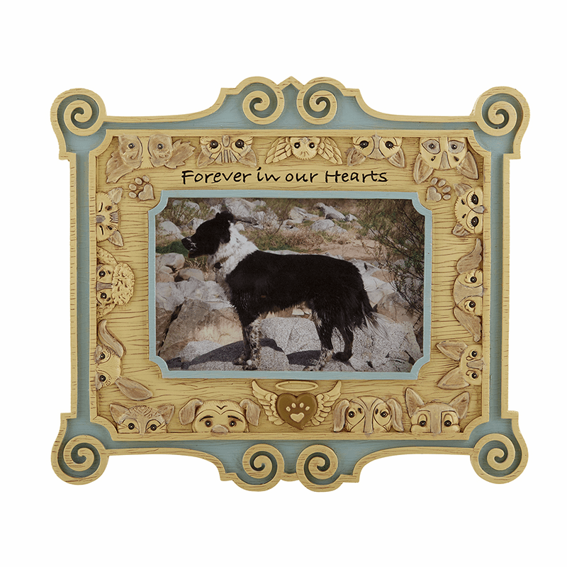 Avalon Gallery Michael Adams Memorial Forever in Our Hearts Pets Photo Frame