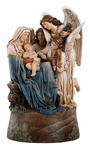 Avalon Gallery Song Of Angels Ave Maria Musical Figurine