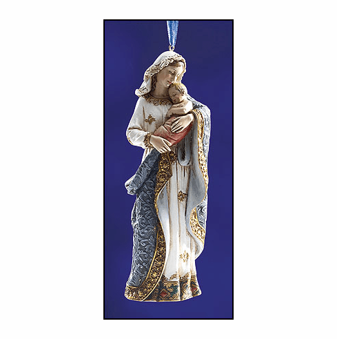 Ave Maria Madonna and Child Ornament