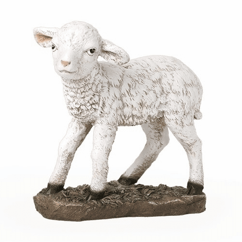 Baby Lamb for the 39 inch Scale Colored Nativity Set Figure
