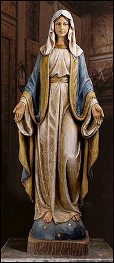 Basilica Church-Sized Our Lady of Grace Statue by Avalon Gallery