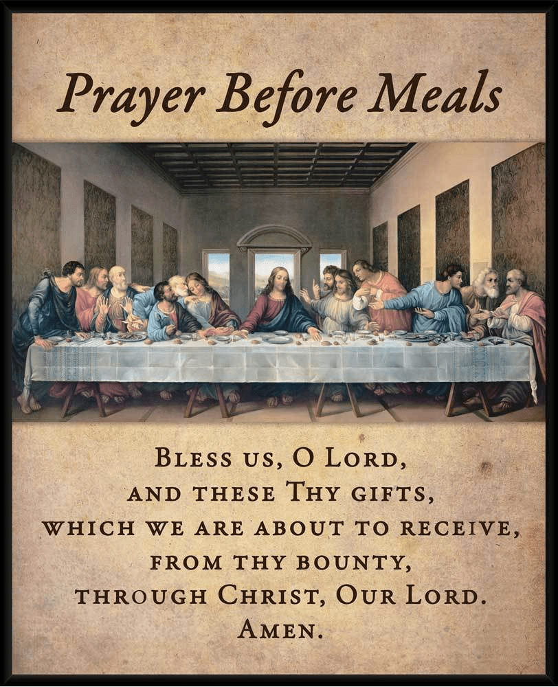 Before Meal Prayers
