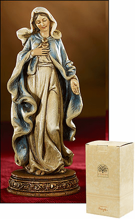 Bellavista Statuary Immaculate Heart Religious Statue by Avalon Gallery