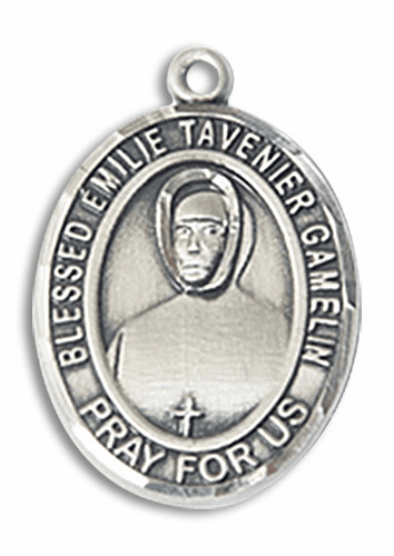 Blessed Emilie Tavernier Gamelin Patron Saint of Social Workers Jewelry & Gifts