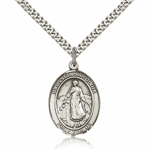 Blessed Karolina Kozkowna Silver-Filled Necklace by Bliss
