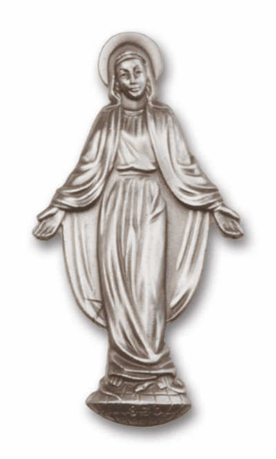 Blessed Mother Mary Auto Visor Clips