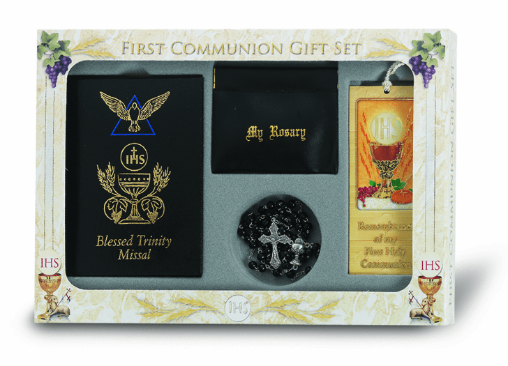 Blessed Trinity Deluxe Catholic Communion Set
