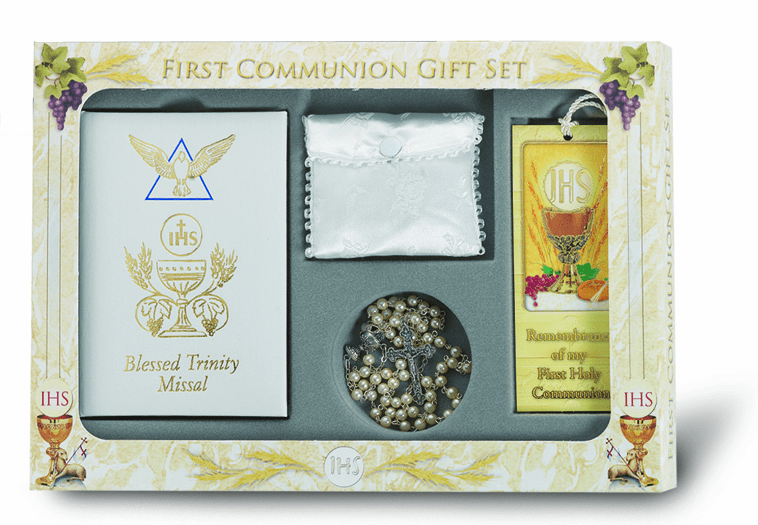 Blessed Trinity Deluxe Catholic Communion Sets
