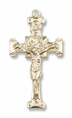 Bliss 14kt Gold Crucifix Pendants & Necklaces