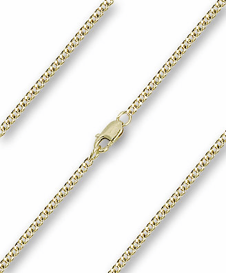 Bliss 14kt Gold Filled Curb Neck Chain w/Lobster Clasp