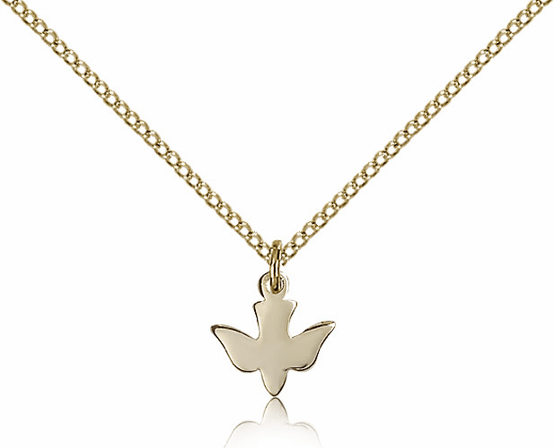 Bliss 14kt Gold-filled Dove Holy Spirit Pendant Necklace