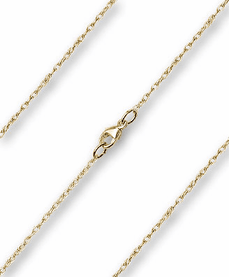 Bliss 14kt Gold Filled Lite Rope Neck Chain w/Lobster Clasp