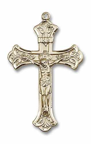 Bliss 14kt Solid Gold Crucifix Rosary Parts