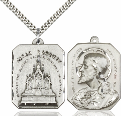 Bliss Alter Society/Sacred Heart of Jesus Pendant Necklace