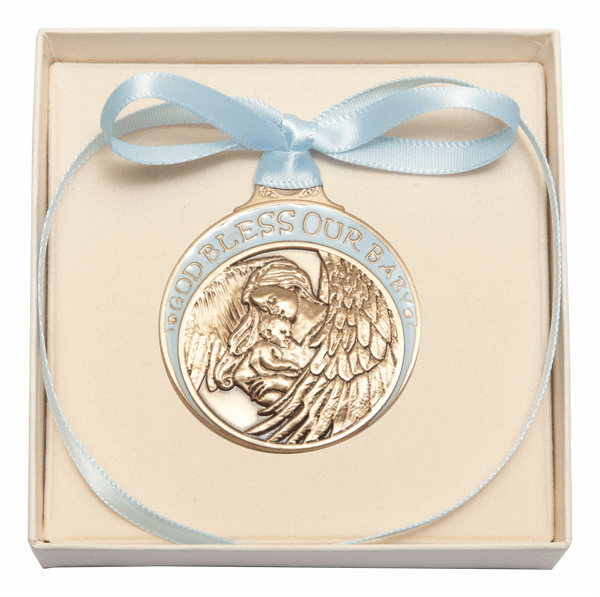 Bliss Baby Crib Medals with Ribbons