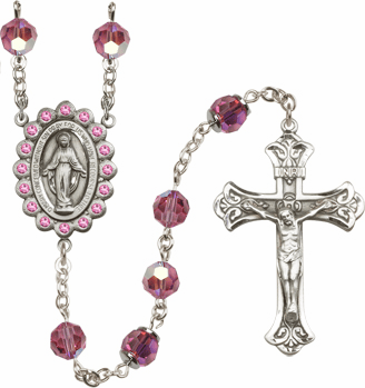 Bliss Birthstone Swarovski Rosaries