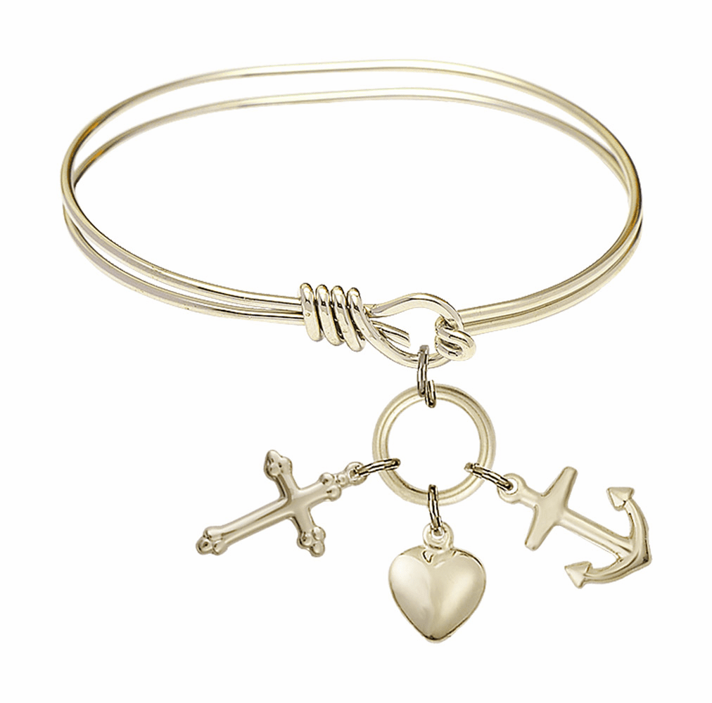 Bliss Charm Bangle Bracelets