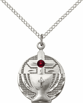 Bliss Communion Birthstone Chalice w/Cross Necklaces
