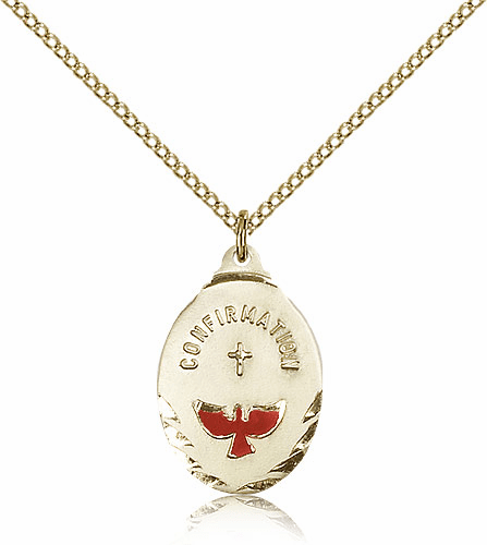 Bliss Confirmation Dove 14kt Gold-Filled Pendant Necklace