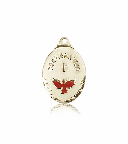 Bliss Confirmation Dove 14kt Gold Pendant Necklace