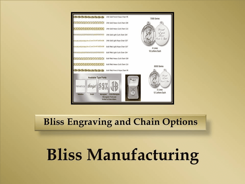 Bliss Engraving and Chains