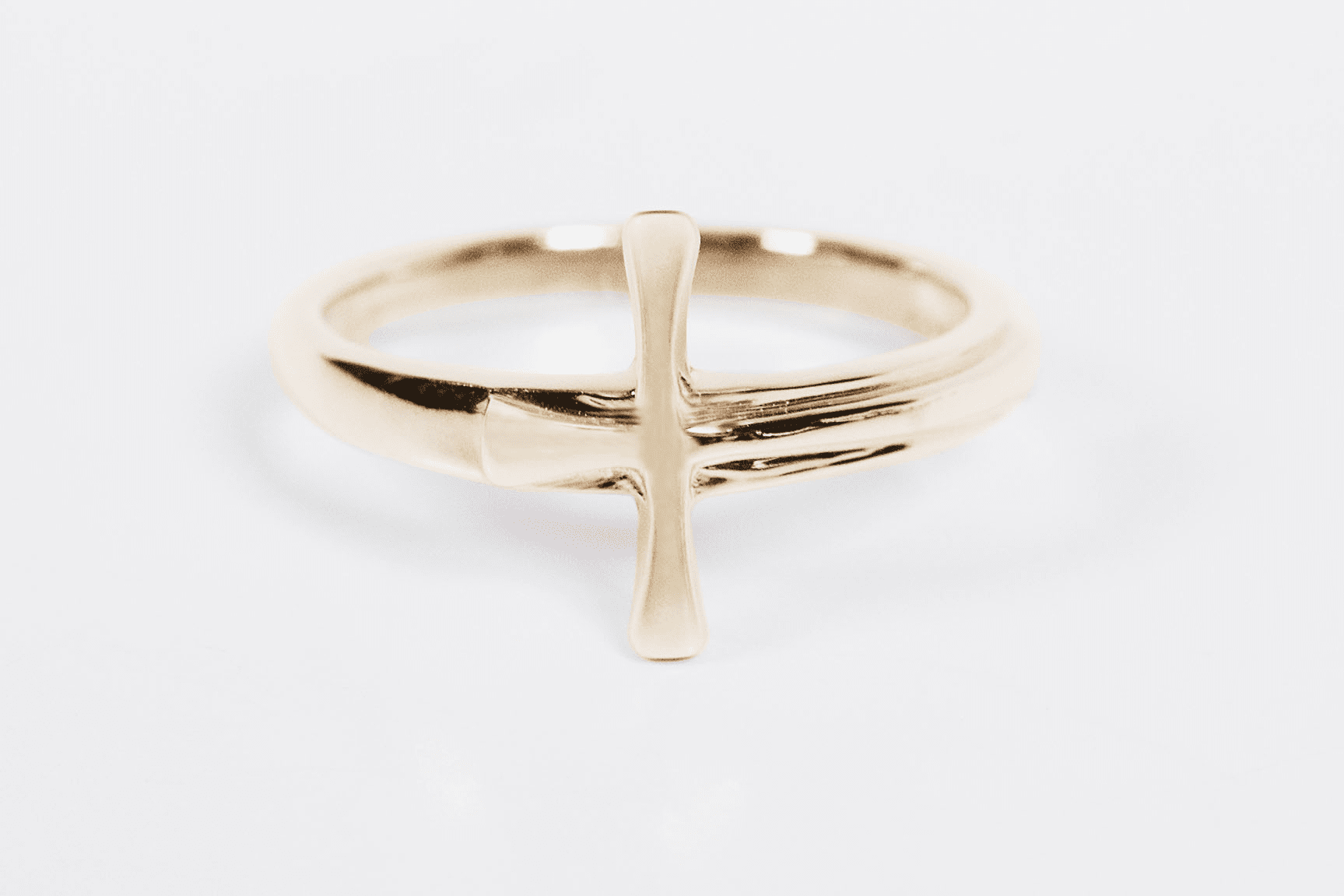 Bliss Manufacturing 14kt Yellow Gold Christian Maltese Cross Ring