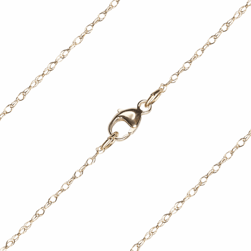 Bliss Manufacturing C06KT 14kt Gold Rope Chain w/Lobster Claw