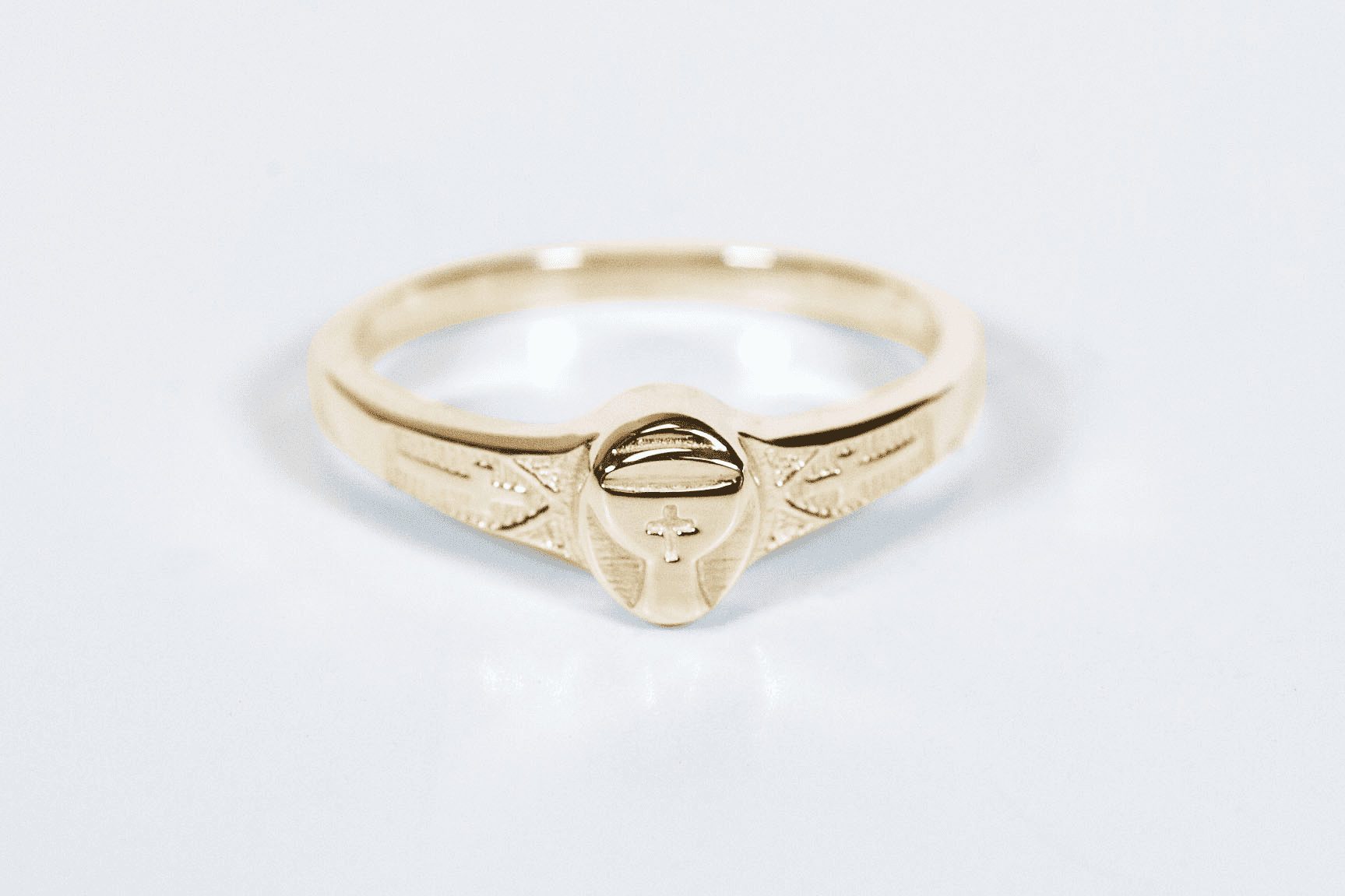 Bliss Manufacturing Child's 14kt Yellow Gold Holy Communion Chalice Ring