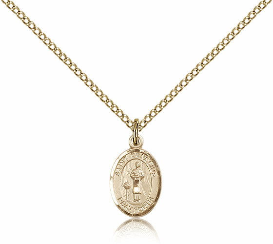Bliss Manufacturing Gold Filled St. Genesius of Rome Pendant