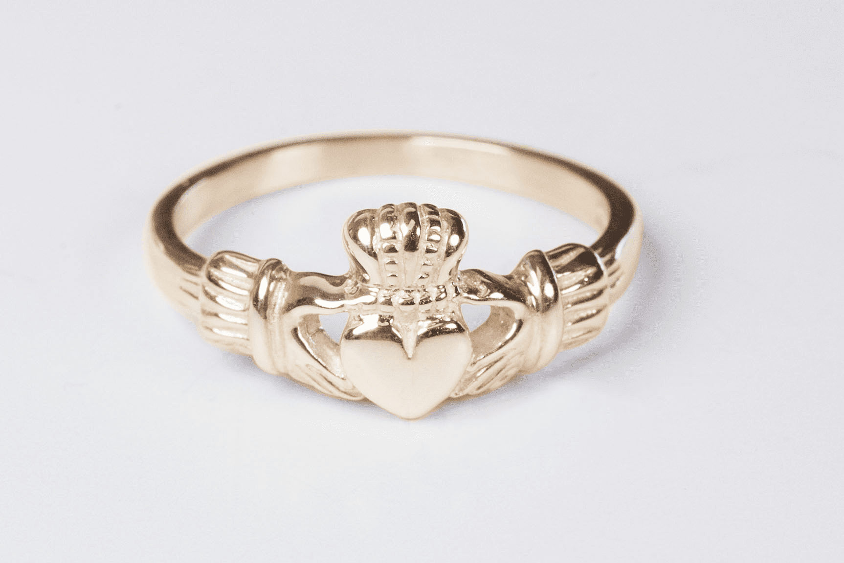 Bliss Manufacturing Women's and Child's 14kt Yellow Gold Irish Claddagh Ring