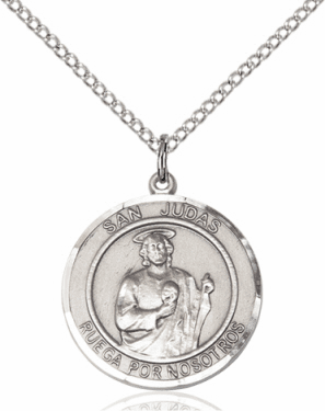 Bliss Medium Round Patron Saint Medals