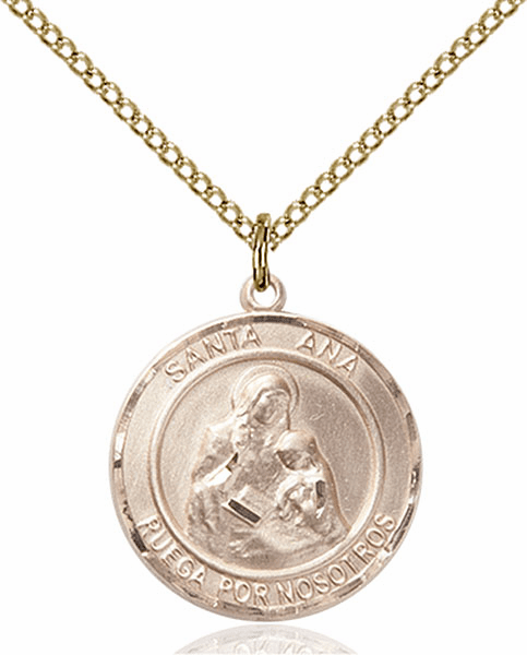 Bliss Medium Spanish Patron Saint Medal Jewelry