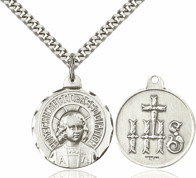 Bliss Jesus Holy Childhood Medal Necklace