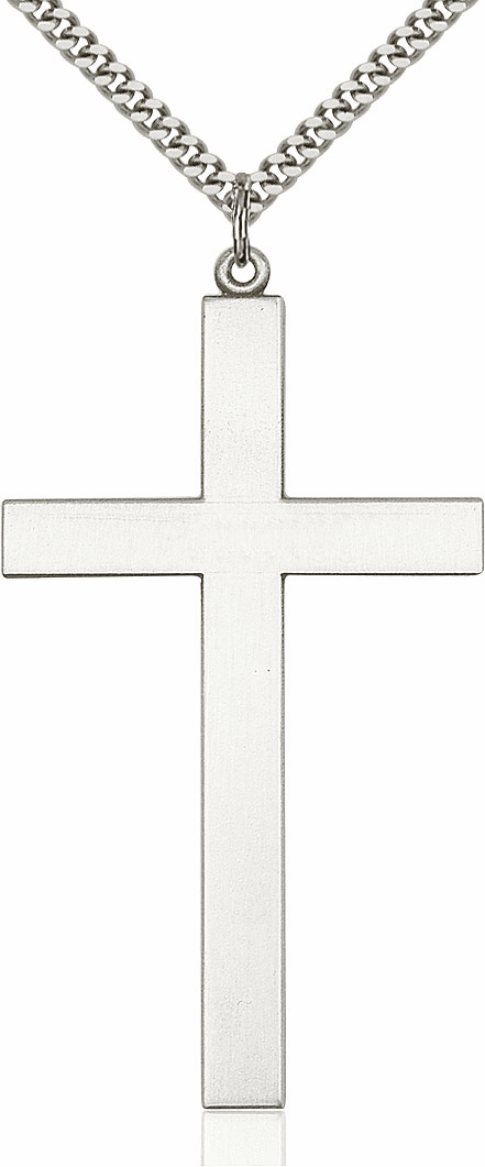 Bliss Mfg Large Christian Church Religious Cross Necklace