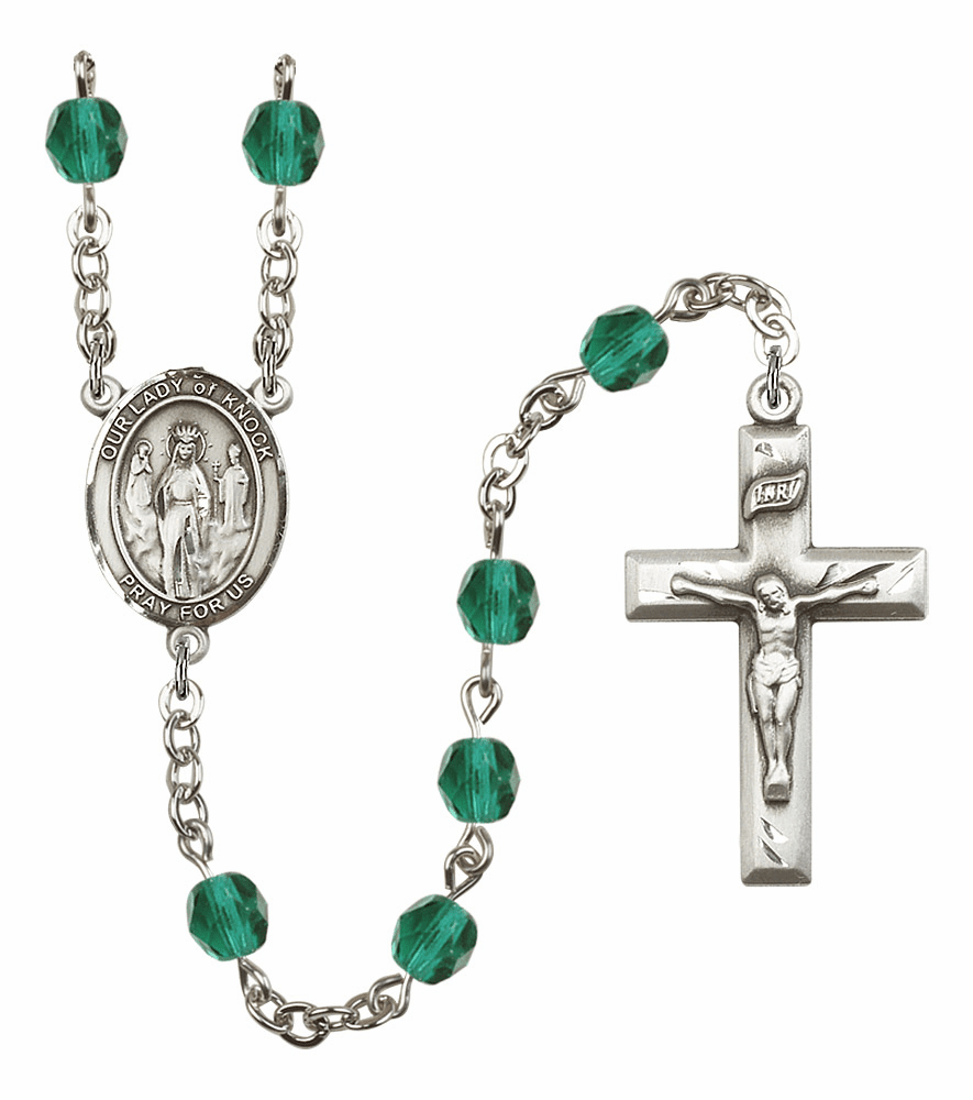 Bliss Mfg Our Lady of Knock December Zircon Birthstone Rosary