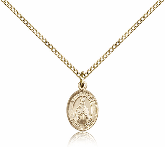 Bliss Mfg Small Gold Filled St. Blaise Patron Saint Medal