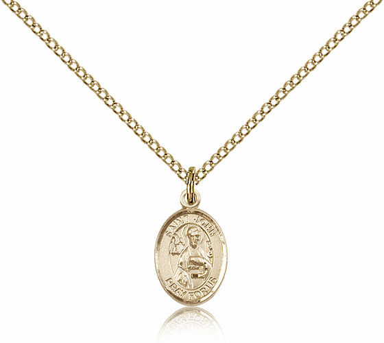 Bliss Mfg Small Gold Filled St. John the Apostle Pendant