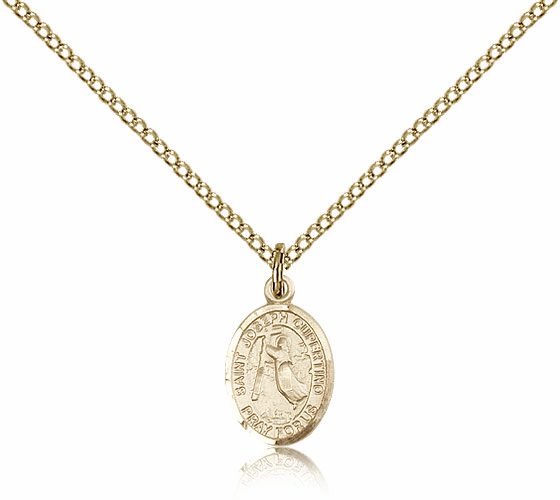 Bliss Mfg Small Gold Filled St. Joseph Of Cupertino Pendant