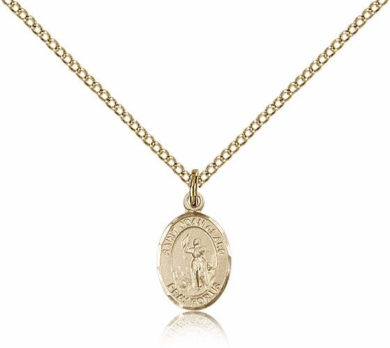 Bliss Mfg St. Joan of Arc Gold Filled Pendant by Bliss