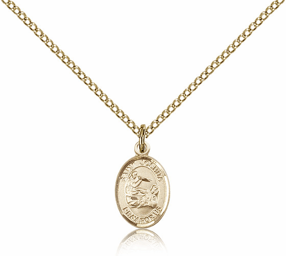 Bliss Mfg St Joshua 14kt Gold-filled Saint Pendant Necklace
