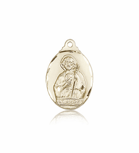 Bliss Saint Jude of 14kt Gold Pendant Necklace
