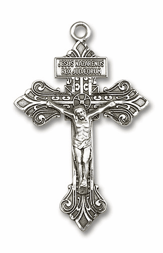 Bliss Silver-filled Crucifixes