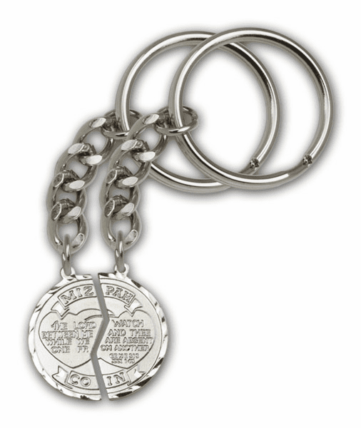 Bliss Silver Plate Miz Pah Keychains