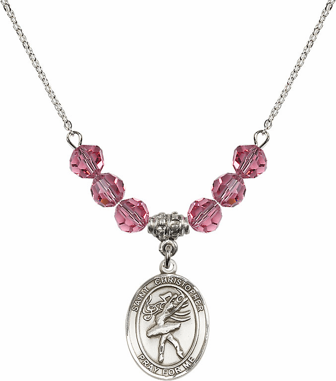 """Bliss St Christopher Dance Crystal and Metal Beaded Necklaces """"More Colors"""""""