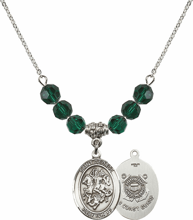 Bliss St George Military Beaded Necklaces
