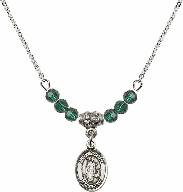 Bliss St Hubert of Liege Swarovski Birthstone Necklace - More Colors