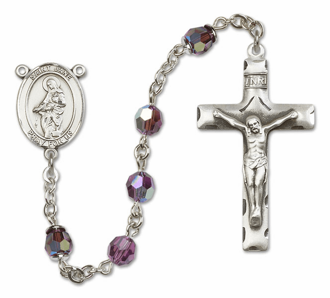 """Bliss St Jane of Valois Sterling, Gold-filled or 14kt Gold Rosary """"More Colors"""""""