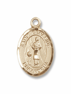 Bliss14kt Gold St. Genesius of Rome Medal