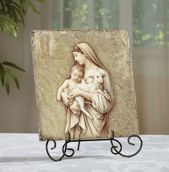 Bouguereau Innocence Marco Sevelli 8 x 10 Plaque by Sacred Traditions
